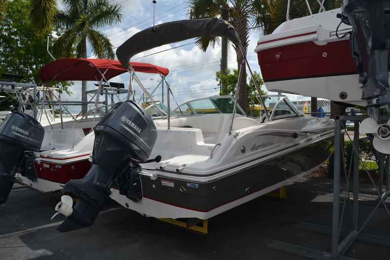 New 2013 Hurricane SunDeck SD 187 OB boat for sale in West Palm Beach, FL