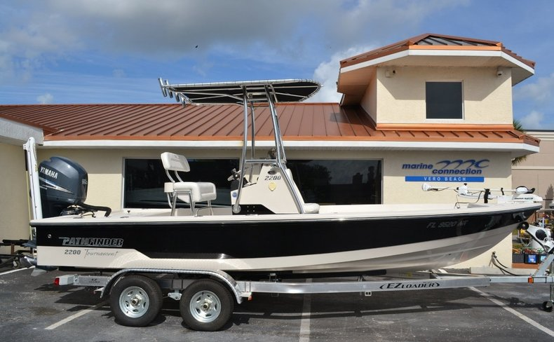 Used 2008 Pathfinder 2200 Tournament XL Center Console boat for sale in Vero Beach, FL