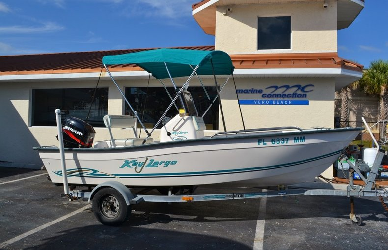 Used 2004 Key Largo 160 cc boat for sale in Vero Beach, FL
