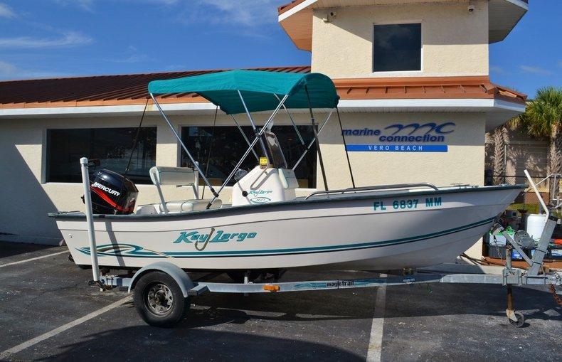 Used 2004 Key Largo 160 cc boat for sale in Vero Beach, FL