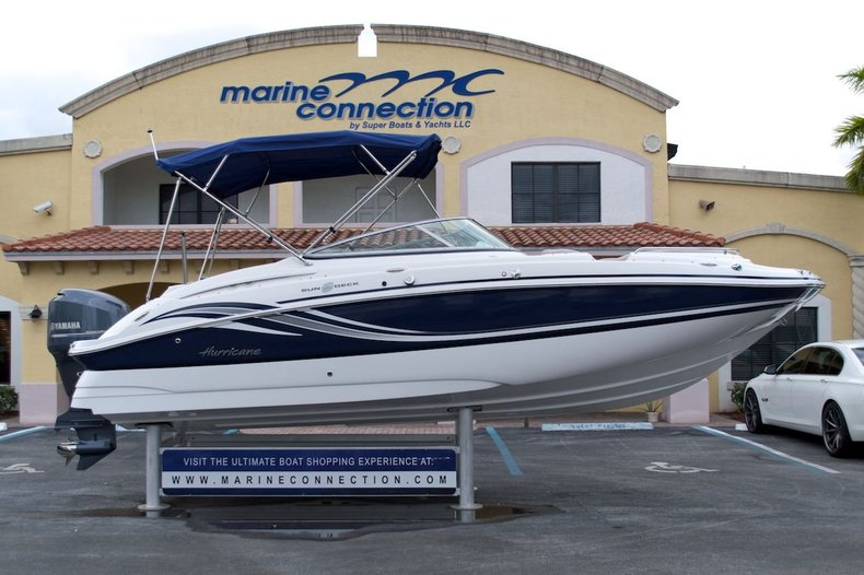 New 2013 Hurricane SunDeck SD 2400 OB boat for sale in West Palm Beach, FL