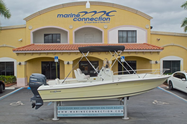 Used 2007 Sailfish 198 Center Console boat for sale in West Palm Beach, FL