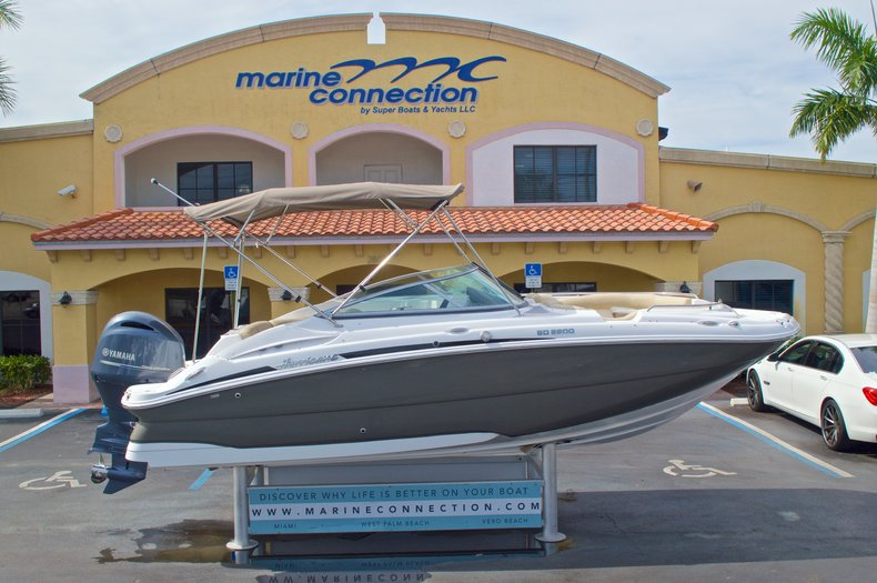 New 2016 Hurricane SunDeck SD 2200 OB boat for sale in West Palm Beach, FL