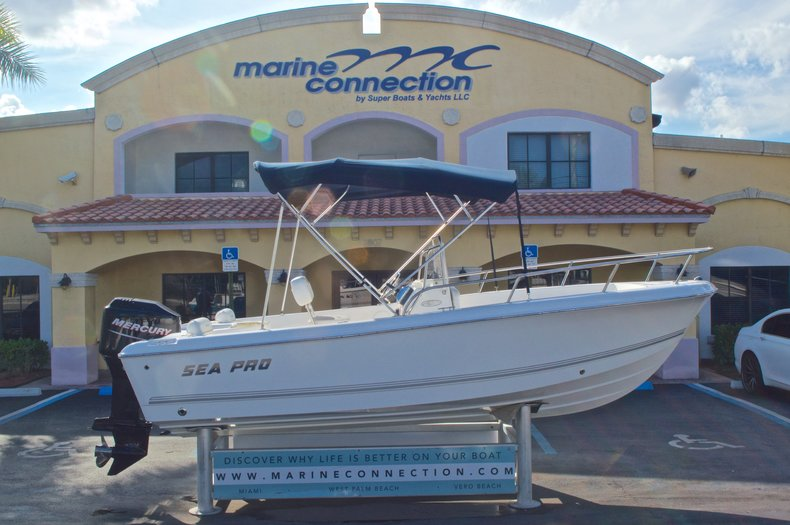 Used 2007 Sea Pro 186 Center Console boat for sale in West Palm Beach, FL
