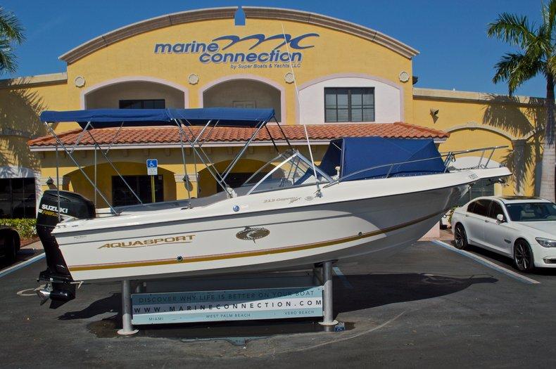Used 2000 Aquasport 215 Osprey Sport DC boat for sale in West Palm Beach, FL