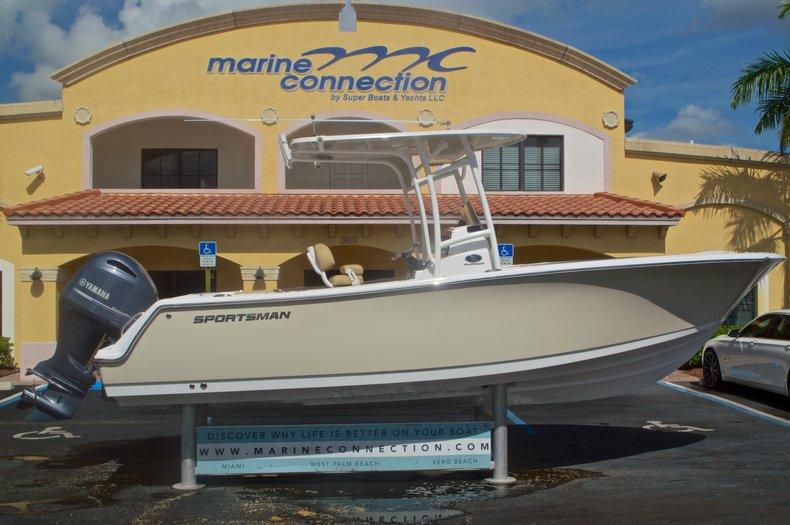 New 2016 Sportsman Heritage 231 Center Console boat for sale in Vero Beach, FL
