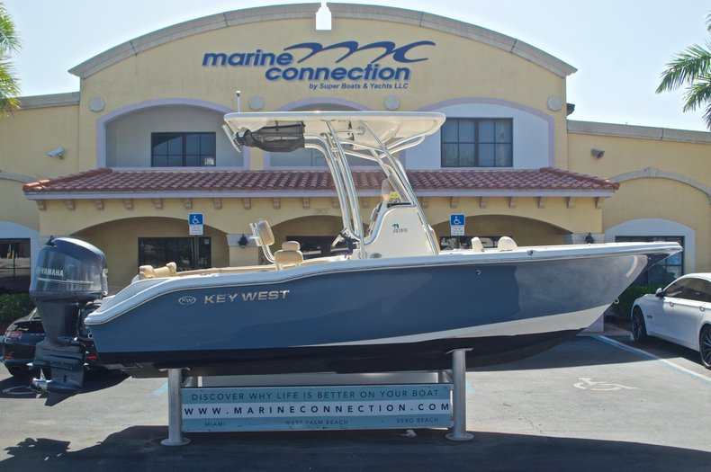 Used 2014 Key West 219 FS Center Console boat for sale in West Palm Beach, FL