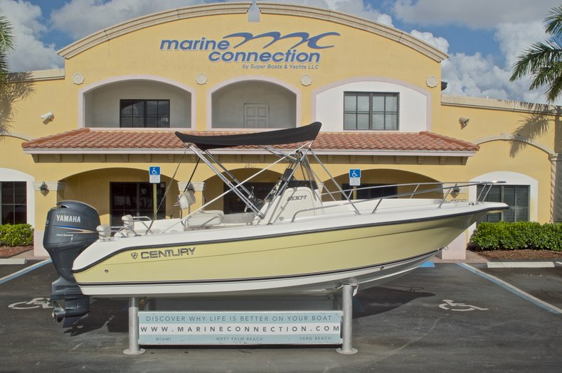 Used 2007 Century 2001 Center Console boat for sale in West Palm Beach, FL