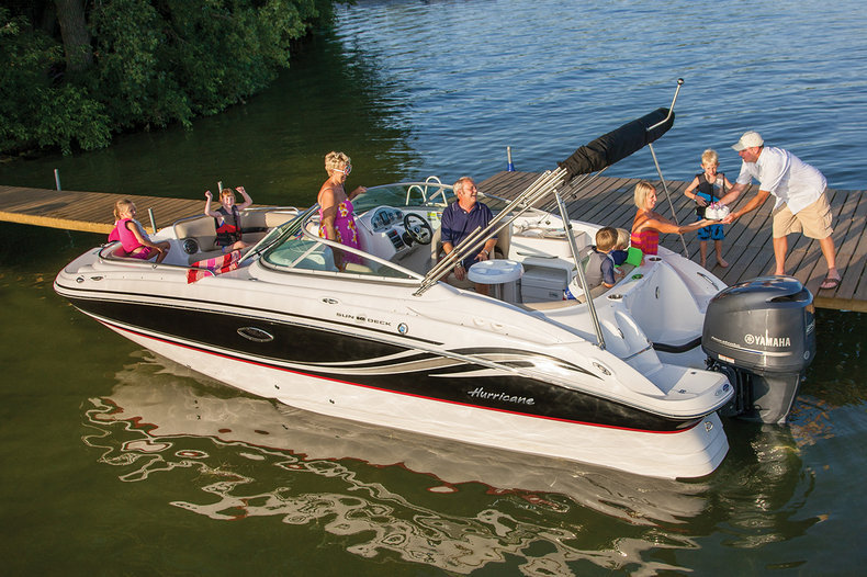 New 2014 Hurricane SunDeck SD 2400 OB boat for sale in West Palm Beach, FL