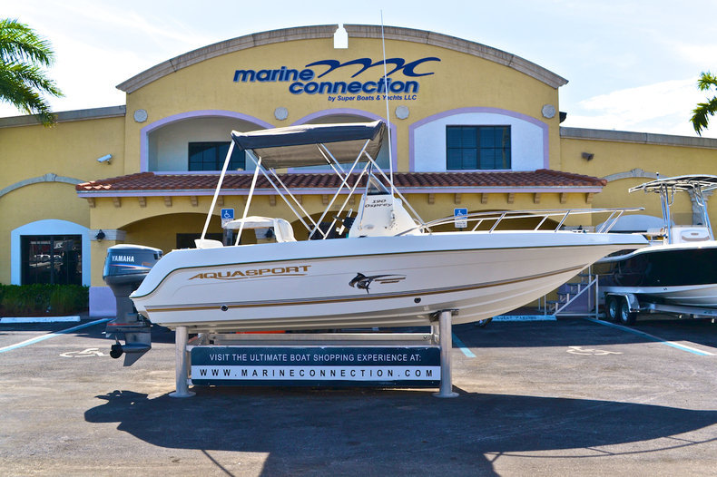 Used 2003 Aquasport 190 Osprey CC boat for sale in West Palm Beach, FL
