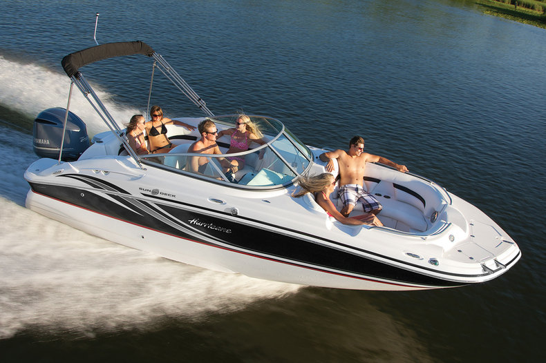 New 2013 Hurricane SunDeck SD 2200 OB boat for sale in West Palm Beach, FL