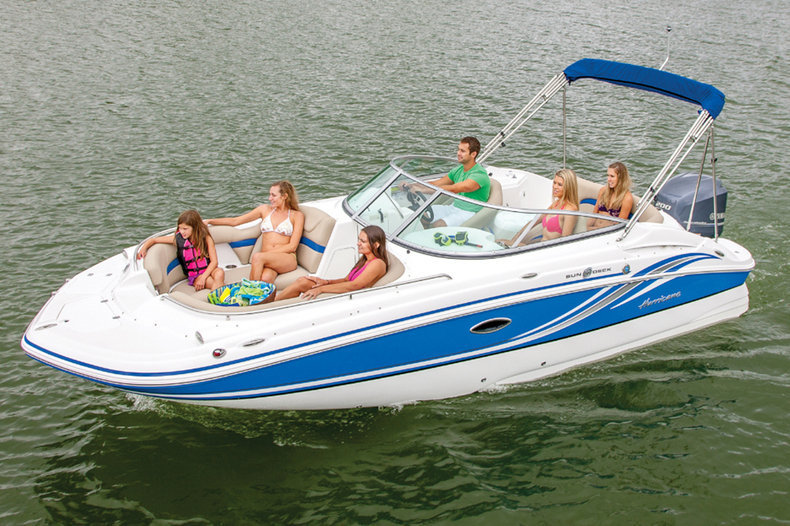New 2014 Hurricane SunDeck SD 2200 DC OB boat for sale in West Palm Beach, FL