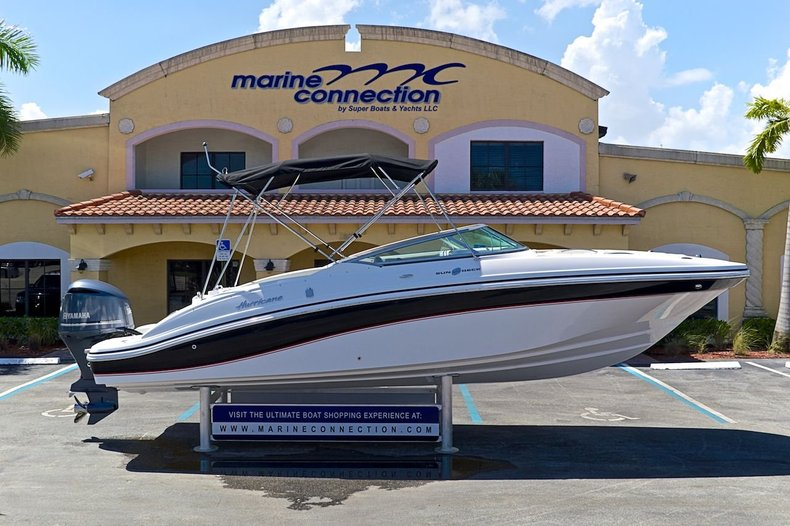 New 2014 Hurricane SunDeck SD 2690 OB boat for sale in West Palm Beach, FL