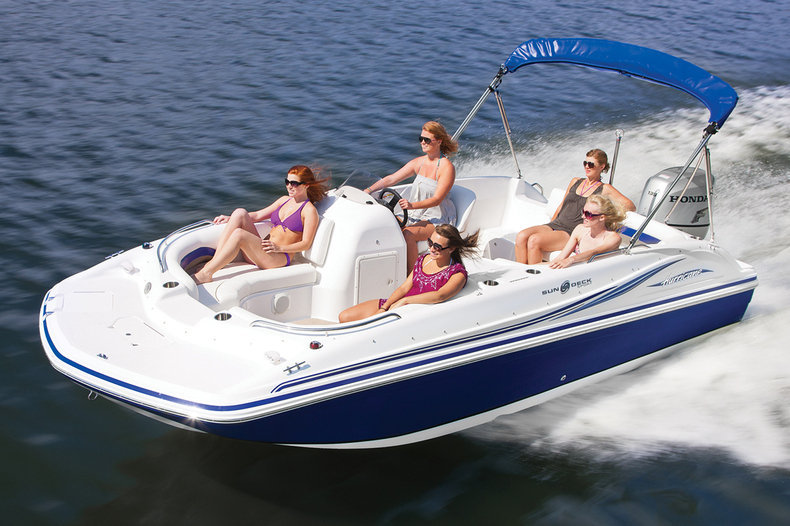 New 2014 Hurricane SunDeck Sport SS 188 OB boat for sale in West Palm Beach, FL