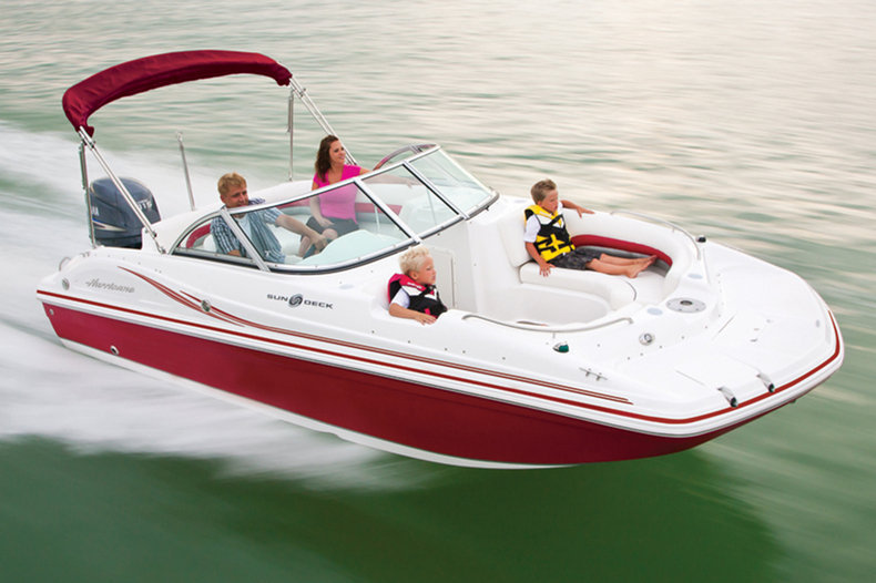 New 2014 Hurricane SunDeck SD 187 OB boat for sale in West Palm Beach, FL