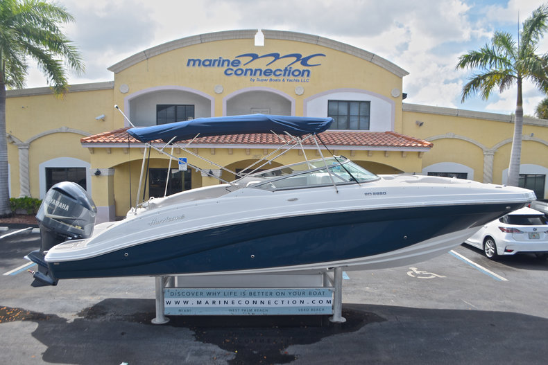 New 2017 Hurricane SunDeck SD 2690 OB boat for sale in West Palm Beach, FL