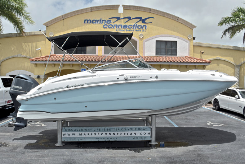 New 2017 Hurricane SunDeck SD 2400 OB boat for sale in West Palm Beach, FL