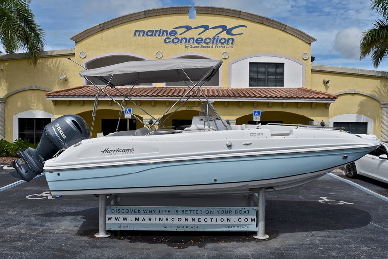 New 2017 Hurricane SunDeck Sport SS 211 OB boat for sale in West Palm Beach, FL