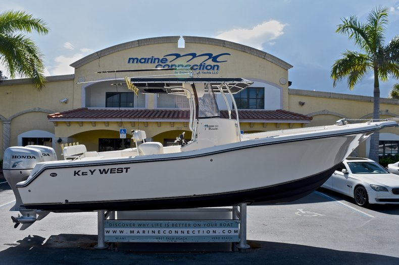 Used 2006 Key West 268 Bluewater Center Console boat for sale in West Palm Beach, FL
