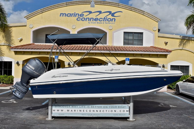 Used 2015 Hurricane 188 SunDeck Sport OB boat for sale in West Palm Beach, FL