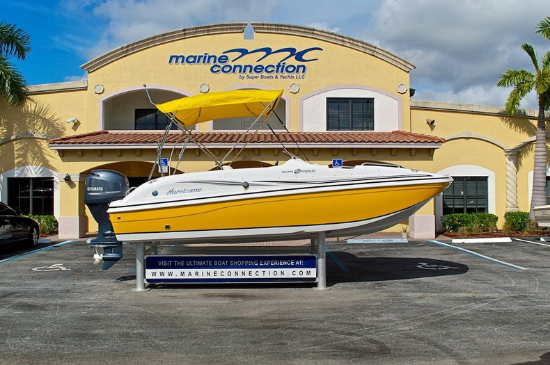 New 2013 Hurricane SunDeck Sport SS 188 OB boat for sale in West Palm Beach, FL