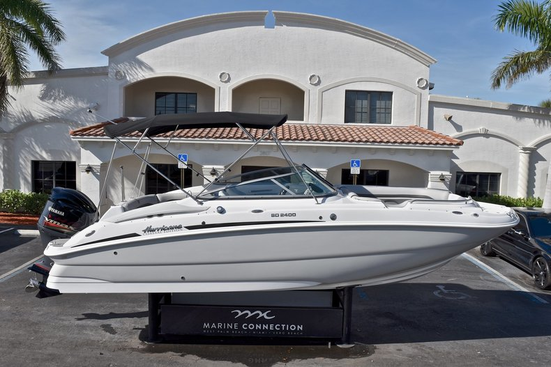 New 2018 Hurricane SunDeck SD 2400 OB boat for sale in West Palm Beach, FL