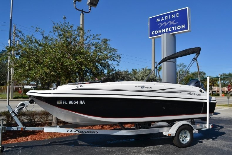 Used 2015 Hurricane 188 SunDeck Sport OB boat for sale in Vero Beach, FL