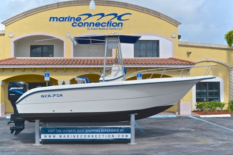 Used 2001 Sea Fox 210 Center Console boat for sale in West Palm Beach, FL