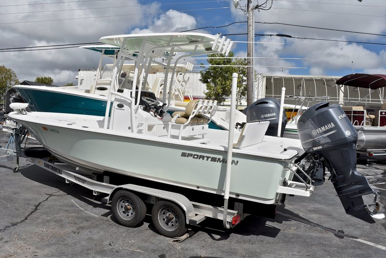 Used 2015 Sportsman Masters 227 Bay Boat boat for sale in West Palm Beach, FL