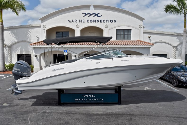 New 2018 Hurricane SunDeck SD 2690 OB boat for sale in West Palm Beach, FL