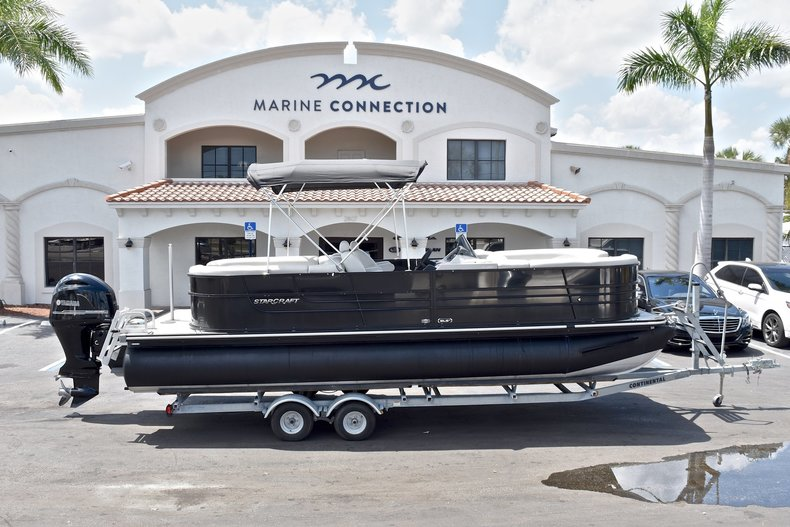 Used 2015 Starcraft SLS 3 Pontoon boat for sale in West Palm Beach, FL