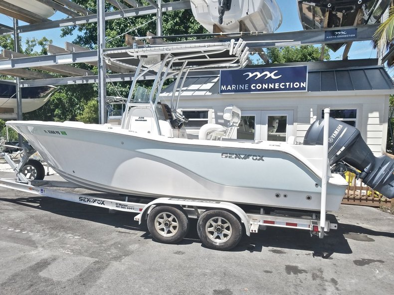 Used 2014 Sea Fox 226 Center Console boat for sale in Islamorada, FL