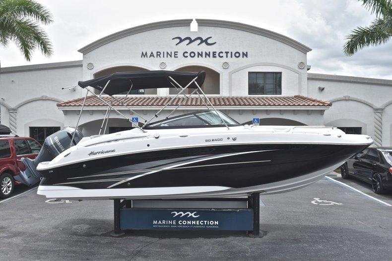 New 2018 Hurricane SunDeck SD 2400 OB boat for sale in Fort Lauderdale, FL