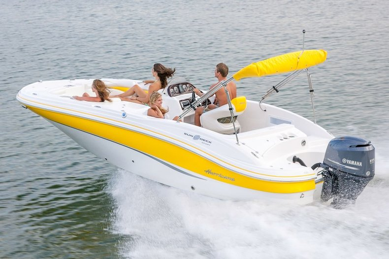 New 2013 Hurricane SunDeck Sport SS 203 OB boat for sale in West Palm Beach, FL