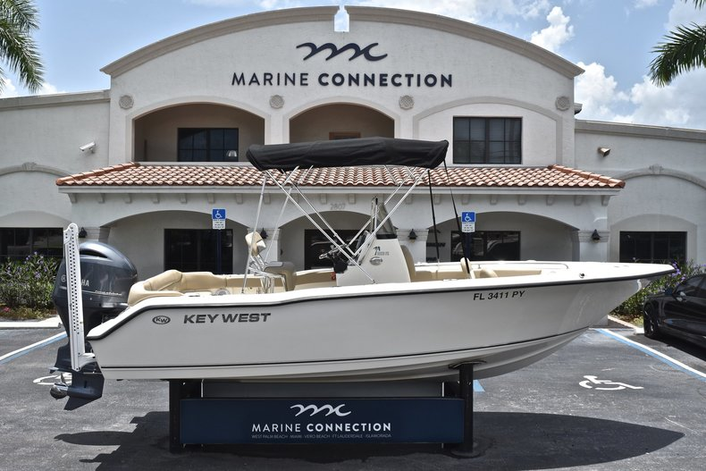 Used 2015 Key West 203 FS Center Console boat for sale in West Palm Beach, FL