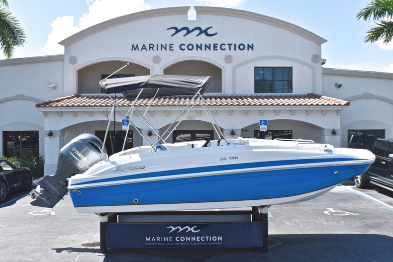 New 2019 Hurricane 188 SunDeck Sport OB boat for sale in West Palm Beach, FL