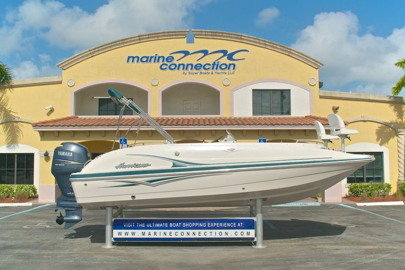 Used 2005 Hurricane FunDeck GS 202 OB boat for sale in West Palm Beach, FL
