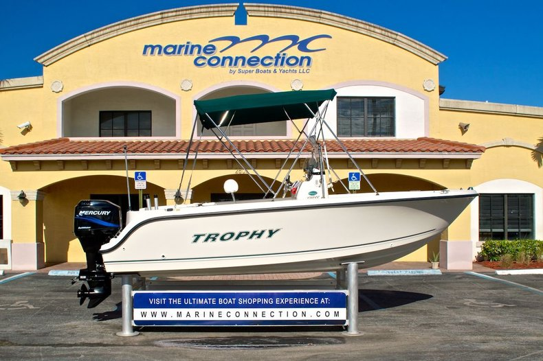 Used 2007 Trophy 1703 Center Console boat for sale in West Palm Beach, FL