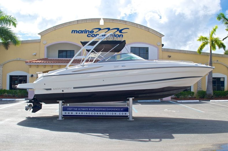 Used 2007 Monterey 268 SS Super Sport Bowrider boat for sale in West Palm Beach, FL