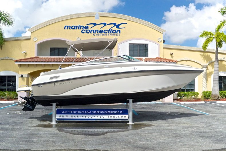 Used 2002 Crownline 230 BR Bowrider boat for sale in West Palm Beach, FL