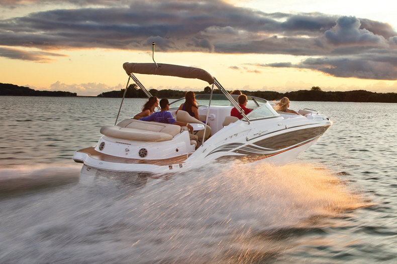 New 2014 Hurricane SunDeck SD 2400 IO boat for sale in West Palm Beach, FL
