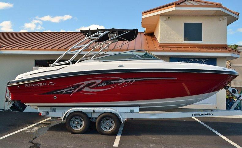 New 2014 Rinker Captiva 236 Bowrider boat for sale in Vero Beach, FL