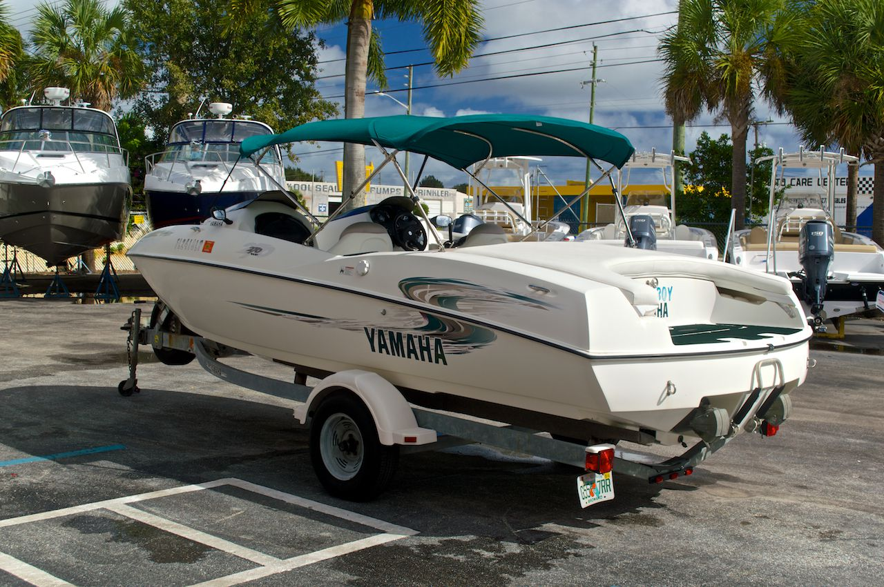 Used Yamaha Jet Boat