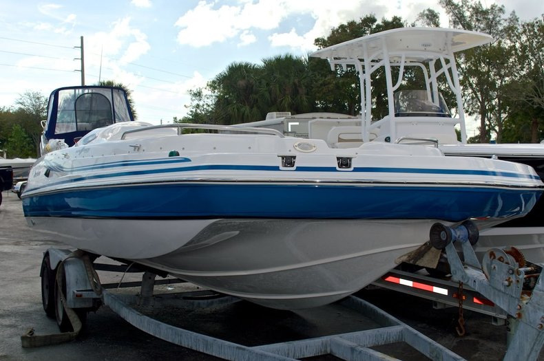 New 2014 Hurricane SunDeck Sport SS 232 OB boat for sale in West Palm Beach, FL