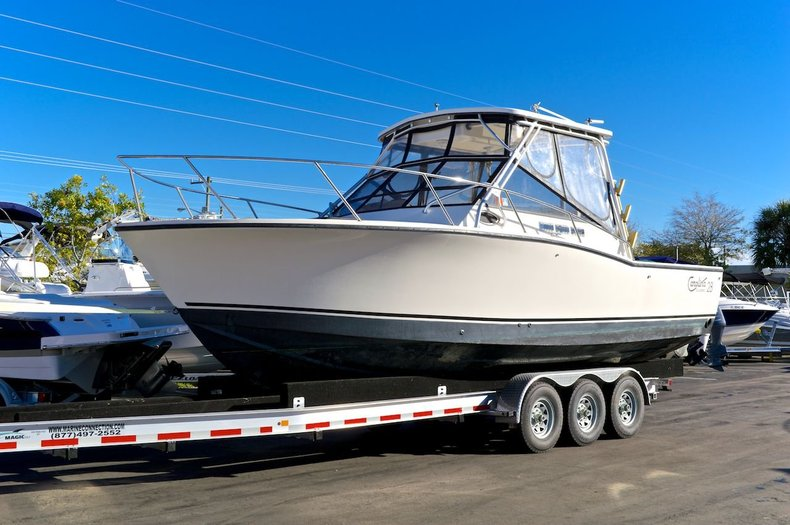 Used 1999 carolina classic 28 39 cuddy cabin boat for sale for Planet motors in west palm beach