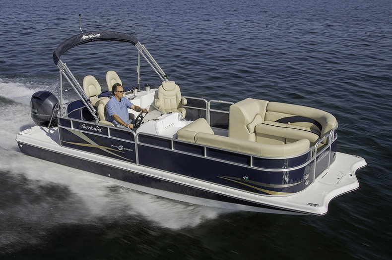 New 2014 Hurricane FunDeck FD 236 Wet Bar OB boat for sale in West Palm Beach, FL