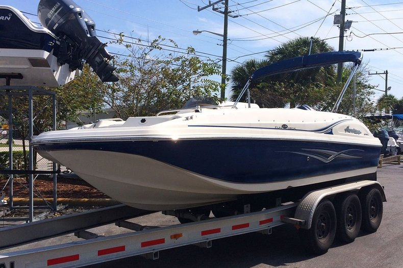 Used 2007 Hurricane FunDeck GS 194 OB boat for sale in West Palm Beach, FL