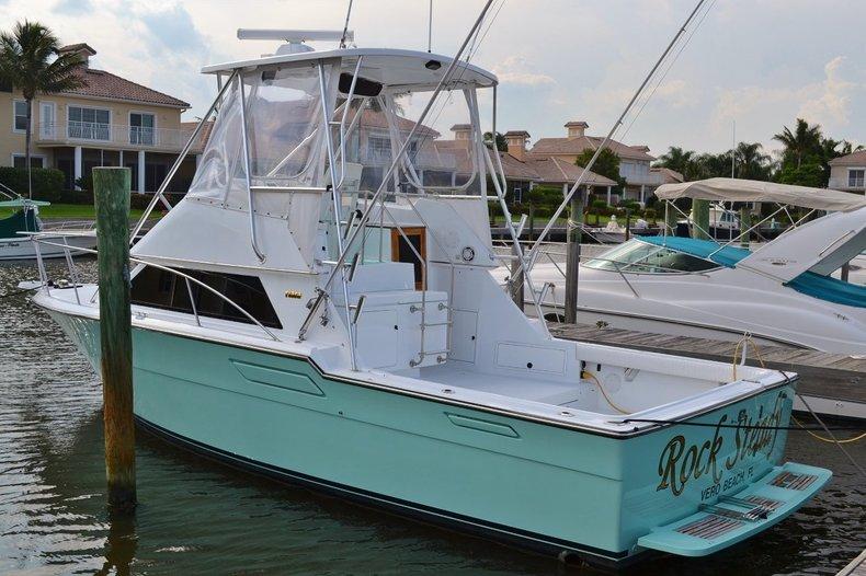 Used 1986 Tiara 3300 Flybrige boat for sale in Vero Beach, FL