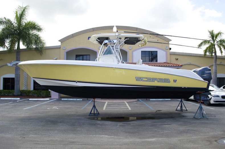 Used 2008 Wellcraft 30 Scarab Offshore Tournament boat for sale in West Palm Beach, FL