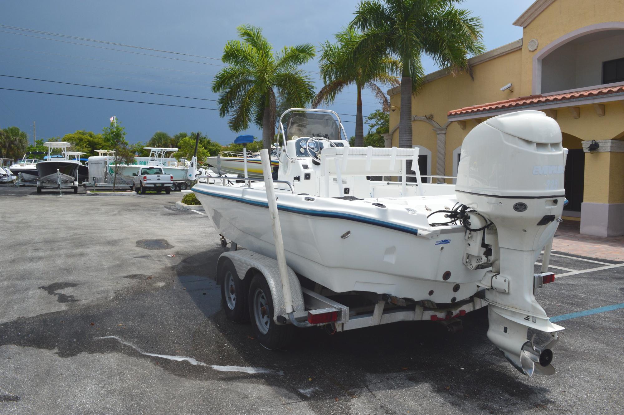 Used 2003 Polar 2100 Fishmaster Bay Boat Boat For Sale In